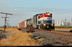 RailPictures.Net Photo: CFNR 504 California Northern Railroad NRE 3GS21B-DE at Arbuckle, California by Jake Miille