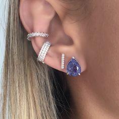 Fake Piercing, Cute Piercings, Piercing Ring, Bling Bling, Piercings Bonitos, Cartilage Earrings, Jewelery, Boho Jewelry, Fashion Earrings