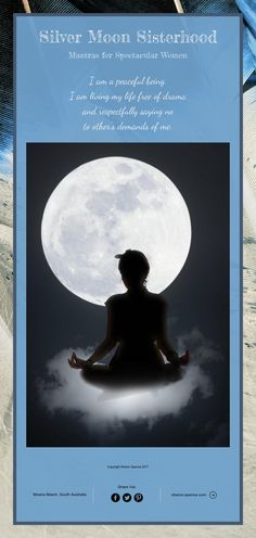 Silver Moon Sisterhood Mantras for Spectacular Women