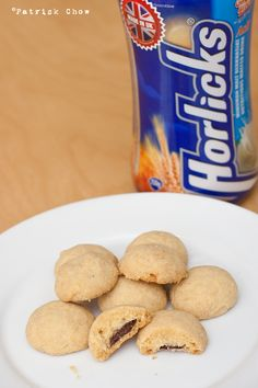 Cook With No Books: Horlicks cookies