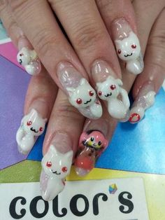 Anime Nail. It's not my style but its different.