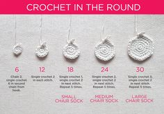How to make woolly chair socks – crochet pattern - Wool Street …