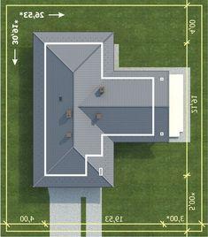 Projekty domów jednorodzinnych, parterowych - ARCHIGRAPH - gotowe projekty domów Lemko TERMO Home, Houses, Blouse, Projects, Ad Home, Homes, Haus