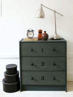 Rast DIY cabinet of Ikea... #ikeahack