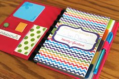 """2014 Printable Planner Pages - Size Small 5.5"""" x 8.5"""" - Planner Pages for Arc System or Martha Stewart Discbound System - by The Polka Dot Posie"""