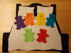Fun with Friends at Storytime: Beary Sleepy Bedtime Flannel Board Stories, Felt Board Stories, Felt Stories, Flannel Boards, Kindergarten Age, Flannel Friday, Programming For Kids, Bedtime Stories, Nursery Rhymes