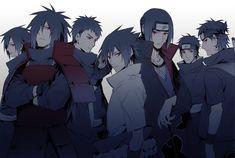 Artist: ryugo | Naruto | Uchiha Itachi | Uchiha Izuna | Uchiha Kagami | Uchiha Madara | Uchiha Obito | Uchiha Sasuke | Uchiha Shisui  The Uchia Clan