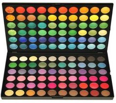 120 Color Eye Shadow Palette Professional High Pigmented Makeup Cosmetic Kit