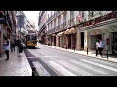 #Trams in #Chiado, #Lisboa (and #Sevillanas) #Lisbon #Trams #Eléctrico