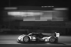 Love the black and white and the way that the back ground is motion blured but the racecar is super crisp