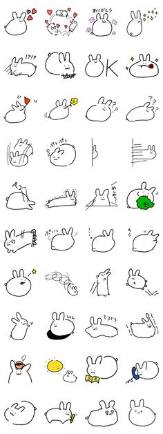 rabbit is cute.simple