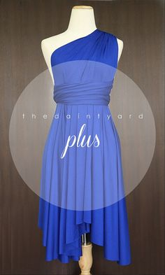 Hey, I found this really awesome Etsy listing at https://www.etsy.com/listing/202031184/plus-size-cobalt-blue-bridesmaid