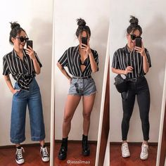 Cool Outfits in pastel colors Edgy Outfits, Cute Casual Outfits, Mode Outfits, Grunge Outfits, Fashion 90s, Look Fashion, Fashion Outfits, Winter Fashion, Black Women Fashion