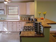 Remodeling This Kitchen Included Removing The Wall Between It And Dining Room Mount Prospect