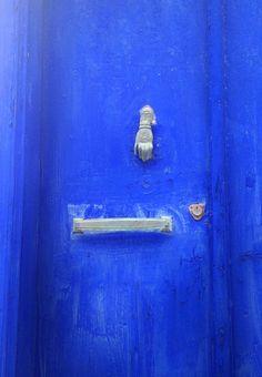 Door on Hydra Island, Greece