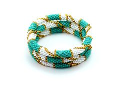 Bracelet Bracelets Beaded Beads Roll On Nepal Bead Seed Crochet Ethnokolor