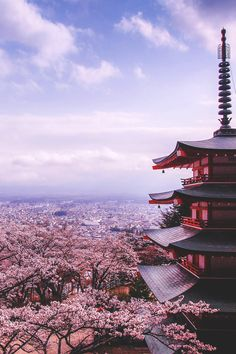Chureito Pagoda, Japan | Rungthum Lee