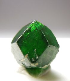 Garnet - Demantoid - Iran - Garnet species are found in many colors including red, orange, yellow, green, purple, brown, blue, black, pink and colorless.
