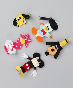 Take a look at this Happiest Place on Earth Clip Set by The Hair Candy Store on #zulily today!