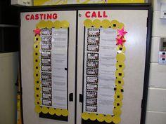Hollywood Classroom Theme Ideas & Decor...I use these cards from Teachers Clubhouse