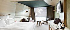 Chambres - Altapura : hôtel 5 étoiles Alpes Val Thorens 3 Vallées