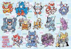 Transformer MTMTE Kitties!!!