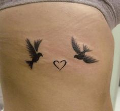 Small Bird Tattoos For Women