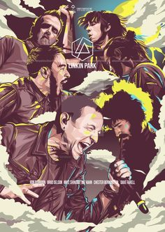 LINKIN PARK – Poster Edition by Obiy Shinichi. This art you can buy in full. T… LINKIN PARK – Poster Edition by Obiy Shinichi. This art you can buy in full. The files in it will include the vector file and the HD poster file. Chester Bennington, Charles Bennington, Linkin Park Chester, Linkin Park Wallpaper, Emo Wallpaper, Best Rock Bands, Cool Bands, Park Quotes, Rock Music