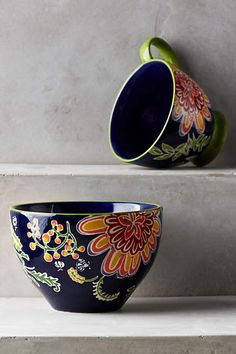 Bellina Blooms Mug - anthropologie.com