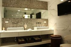 Handmade Mother of Pearl Rib Mosaic Tile For Bathroom Kitchen Shower Wall Tile Backsplash Brick Bathroom, Custom Bathroom Cabinets, Church Interior Design, Master Bath Vanity, Bathroom Gallery, Kitchen Shower, Brick Patterns, Mosaic Tiles, Glass Tiles