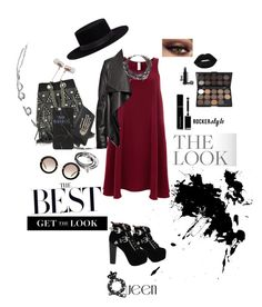 """""""The Best"""" by mattielakey ❤ liked on Polyvore featuring Cynthia Rowley, Jeffrey Campbell, Finery London, HIDE, Jérôme Dreyfuss, Bernard Delettrez, Lime Crime, Givenchy, Lizzy James and Erickson Beamon"""