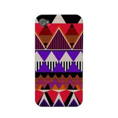 Pop Neon Tribal 2 iPhone 4/4S Case-Mate Case by OrganicSaturation  Browse Tribal Casemate Cases