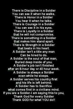 My dad is a retired Army soldier. I hope to carry on this legacy through Air National Guard! Military Quotes, Military Mom, Army Mom, Army Life, Military Honors, Army Girlfriend, Military Humour, Military Ranks, Army Quotes