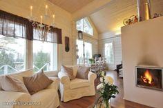Myytävät asunnot, Telkinmäentie 19, Mynämäki #oikotieasunnot #olohuone #livingroom