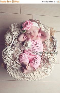 SALE Instant Download PDF Crochet Pattern - No. 31 Baby Spring Flower Romper & Headband Set - 3 Sizes by WarmFuzzyBoutique on Etsy https://www.etsy.com/au/listing/178570549/sale-instant-download-pdf-crochet