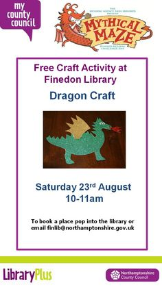 Dragon Craft at Finedon Library