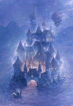 """The Fairy Castle"" by Scott Gustafson"