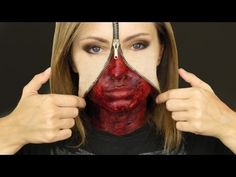 Scary Halloween Makeup | Now you know the basics, you can really go to town with your Unzipped ...