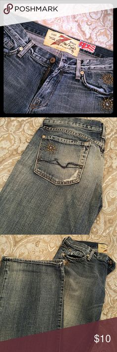 7 for all mankind jeans 7 for all man kind jeans. Bootcut style. Size 31. They run small Jeans Boot Cut