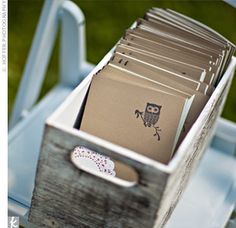 Programs in rustic box