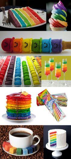 #Rainbow #Colourfull & #Lovely ❤