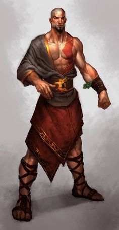 m Monk midlvl latest Fantasy Male, Fantasy Warrior, Fantasy Rpg, Fantasy Artwork, Fantasy Character Design, Character Concept, Character Inspiration, Character Art, Dnd Characters