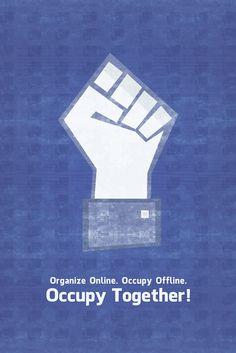 Steve Alfaro. Organize Online. Occupy Together!
