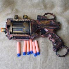 Steampunk Nerf Gun!