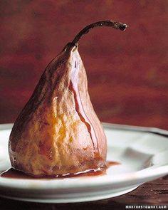 Shrunken Pears Recipe