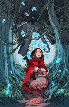 Red Riding Hood - by Isabelle M. (a.k.a. Secondilina)