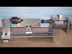 Homemade Wood Metal Mini Lathe Collet ER11 Drill DIY Headstock Chuck Spi...