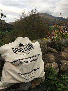 Grub Club Cambridge bags on tour thanks Cambridge Bag, Wbc, Grubs, Lake District, Reusable Tote Bags