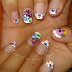 Pretty Nails, Fun Nails, Creative Nails, Pedicure, Hair And Nails, Girl Hairstyles, Finger, Nail Designs, Nail Art