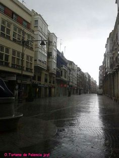Calle Mayor. Palencia.